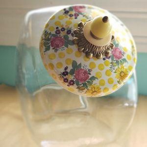 Mackenzie-childs buttercup cookie jar